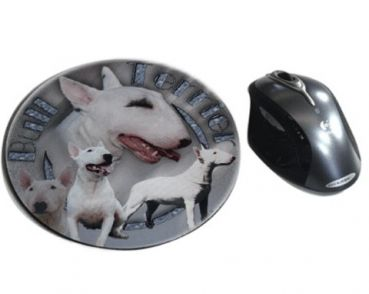 Mousepad Bullterrier 2