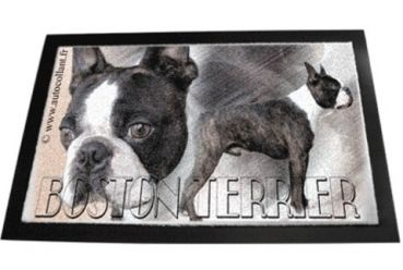 Designer Fussmatte Boston Terrier