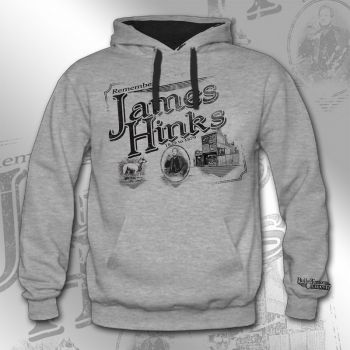 Kapuzensweatshirt Motiv James Hinks