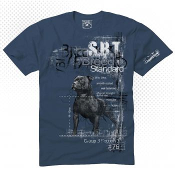 Staff Bull T-Shirt Motiv Breed Standard