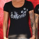 Bullterrier Girlie Shirt Motiv Bloodline